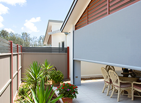Supply and installation of outdoor blinds